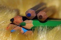 Пункт карандашей цвета Стоковые Изображения
