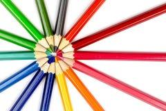 Пункт карандаша Стоковая Фотография