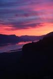 Пункт 1 кроны восхода солнца Стоковая Фотография