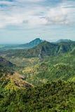 Пункт Маврикий veiw ущелий стоковые фотографии rf