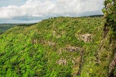 Пункт Маврикий veiw ущелий стоковое изображение rf