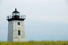 пункт маяка длинний Стоковая Фотография RF