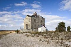 пункт маяка кедра Стоковые Изображения