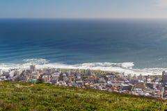 Пункт моря от холма сигнала Стоковое фото RF