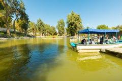 Пункт парка Arequipa Перу Alegre сельвы озера embarkation стоковое изображение rf