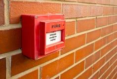 пункт пожара сигнала тревоги Стоковая Фотография RF