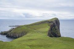Пункт Шотландия Neist Стоковое фото RF