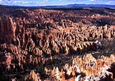 Пункт Bryce, национальный парк каньона Bryce, США. стоковая фотография rf
