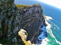 пункт Cape Town плащи-накидк Африки южный Стоковые Изображения RF