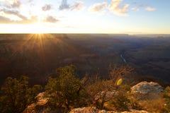 Пункт Mohave гранд-каньона Стоковое Изображение