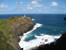 пункт nwr kilhauea kauai Стоковая Фотография