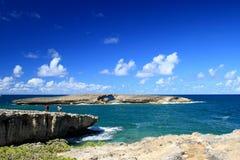 пункт oahu laie Гавайских островов Стоковое Изображение