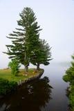 Пункт Osborne, озеро приятное, NY стоковая фотография