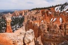 Пункт Ponderosa на каньоне Bryce Стоковое Изображение