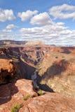 Пункт Toroweap, национальный парк грандиозного каньона Стоковая Фотография