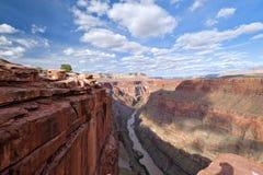 Пункт Toroweap, национальный парк грандиозного каньона Стоковое Изображение
