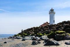 пункт wilson маяка Стоковое Изображение