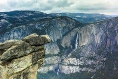Пункт Yosemite ледника Стоковое Фото