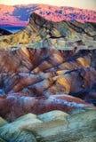 Пункт Zabriskie стоковые фотографии rf