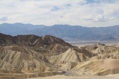 Пункт Zabriskie, Death Valley, Калифорния, США Стоковое Фото