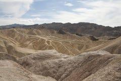 Пункт Zabriskie, Death Valley, Калифорния, США Стоковое Изображение