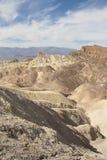 Пункт Zabriskie, Death Valley, Калифорния, США Стоковое Изображение RF
