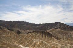 Пункт Zabriskie, Death Valley, Калифорния, США Стоковые Изображения RF