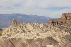 Пункт Zabriskie, Death Valley, Калифорния, США Стоковые Изображения