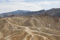 Пункт Zabriskie, Death Valley, Калифорния, США Стоковая Фотография RF