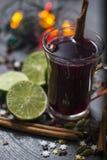 Пунш красного вина Стоковое фото RF
