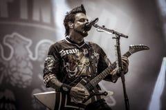 Пунш смерти 5 пальцев, heavymetal 2017 крюка Джейсона Стоковые Фото