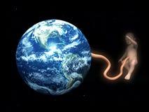 Пуповина младенца прикрепленная к матери-земле 4 Стоковые Фотографии RF