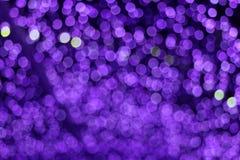 пурпурный конспект цвета сада нерезкости и света и ночи bokeh красочного стоковое фото rf