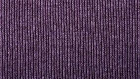 Пурпурный связанный конец текстуры ткани вверх Смогите быть использовано как предпосылка Селективный фокус стоковая фотография rf