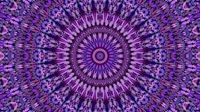 Пурпурный флористический богато украшенный дизайн предпосылки картины мандалы - абстрактная богемская иллюстрация вектора стоковые изображения