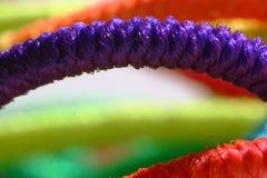пурпуровая веревочка стоковые изображения