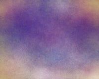 Пурпуровая и светлооранжевая текстурированная предпосылка Стоковая Фотография RF