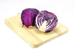 Пурпуровая капуста Стоковое Изображение