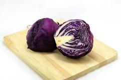Пурпуровая капуста Стоковое фото RF