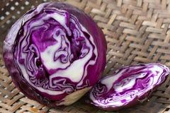 Пурпуровая капуста Стоковые Фото