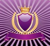 пурпуровая королевская пшеница иллюстрация вектора