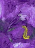 Пурпуровая предпосылка иллюстрация вектора