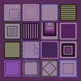 Пурпуровая предпосылка Стоковые Изображения