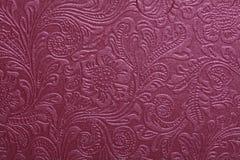 пурпуровая текстура бумаги картины Стоковые Фотографии RF