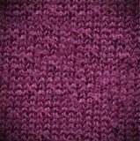 Пурпуровая текстура хлопка Стоковая Фотография RF