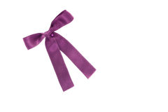 пурпуровая тесемка Стоковые Фото