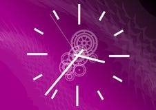 пурпуровое время иллюстрация штока