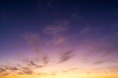 пурпуровое небо стоковое фото rf