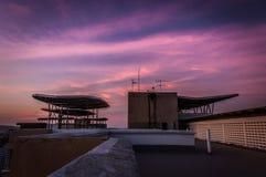 пурпуровое небо стоковая фотография rf