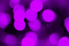 Пурпуровое bokeh Стоковые Фото